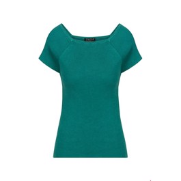 Zilch Amsterdam TOP short sleeves Emerald